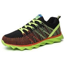 2017 New Men and Women Running Shoes Comfortable Walking Sneakers Brand Style Weaving Outdoor Sports Shoes HX-1806