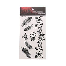 Exquisite Leaf Tattoo Stickers Creative Waterproof Unisex Fashion Body Art