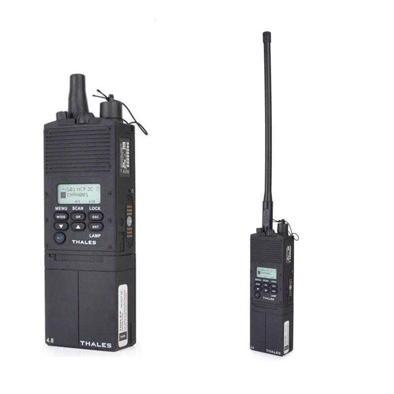 Tactical (UV) MBIT PRC-Multibanda Inter Intra Squadra Caso Radio Dummy Airsoft Talkie Walkie Fittizio Solo Caso Militare Paintball