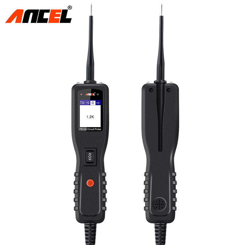 Ancel PB100 12V Electric Circuit Tester Car Circuit Multimeter Automotive Power Probe AC DC Voltage Electrical System Tester цена и фото