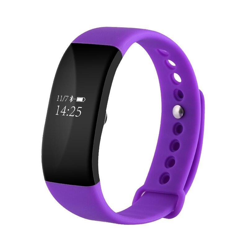 Smartch IP68 Waterproof V66 Heart Rate Monitor Smart Wristband Blood Pressure Anti lost Sedentary Remind Bracelet