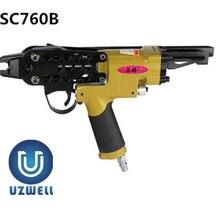 UZWELL SC760B пневматический пистолет с-кольцом, пневматический пистолет для ногтей, плоскогубцы с кольцом для боров, аутентичный C-Ring Naier