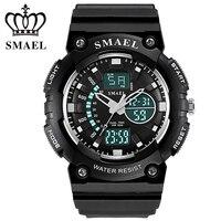 Sports Men S Watch Big Dial Shock Military Sport Watches For Men Watch Strap Waterproof Dual