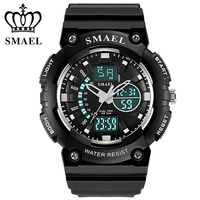 Sports Men S Watch Big Dial Shock Military Sport Watches For Men Watch Strap Waterproof Dual