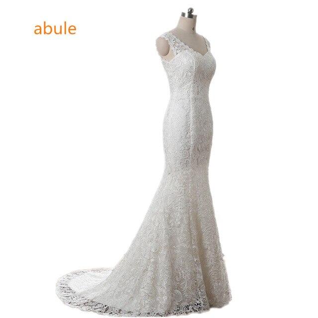 Abule Hochzeit Kleid 2018 Sommer Sexy Spitze sleeveless Strand ...