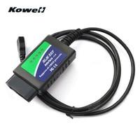 KOWELL V1.4 Araba 1.5 m USB kablosu ELM327 OBD OBD2 Teşhis tarama aracı Akıllı Akıllı Arayüz Tarayıcı Dizüstü ve PC için Yeni|Motor Bilgisayarları|Otomobiller ve Motosikletler -