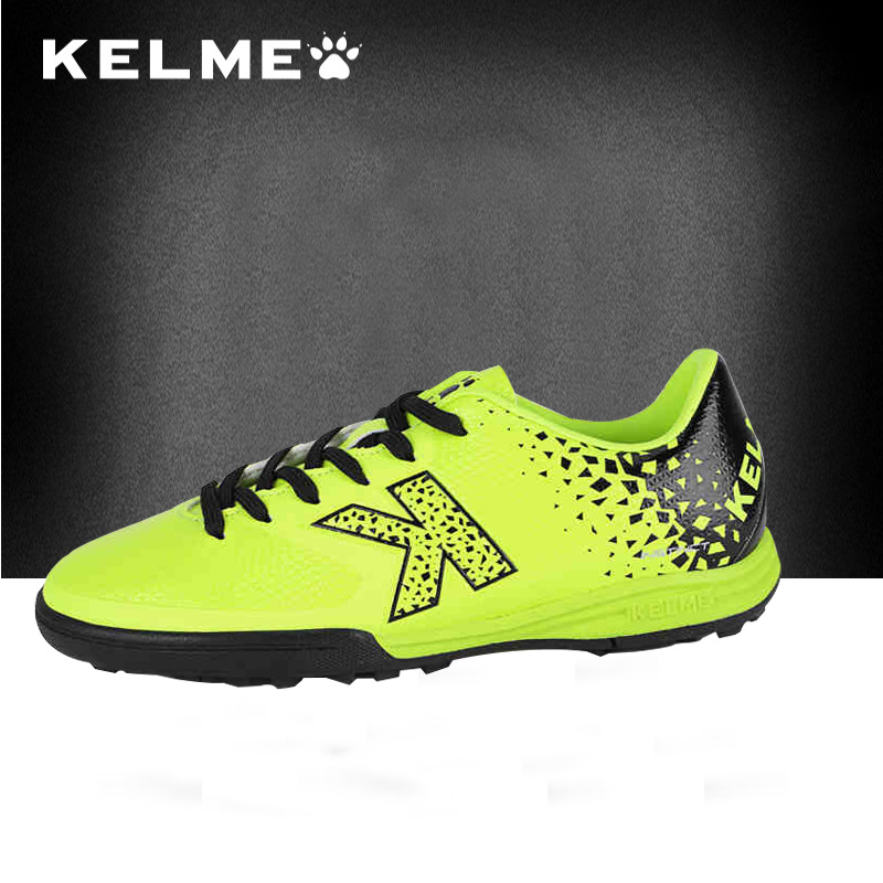 1bae2799a KELME Men Outdoor Turf Soccer Shoes Lace-Up Sports Shoes Male Professional  Trainers Football Sneakers