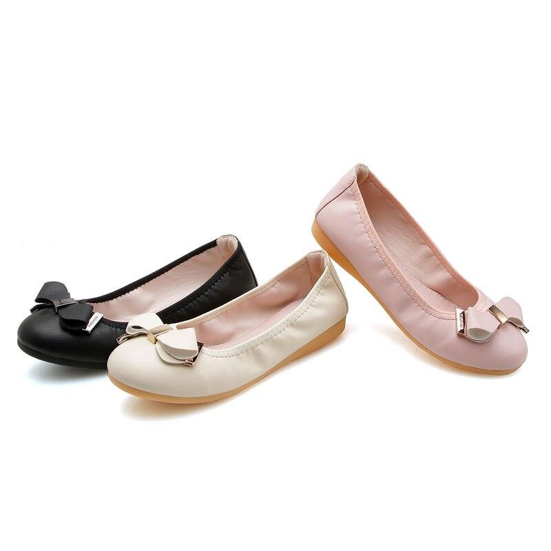 black pink Beige Femmes Chaussures Rose En Casual Mocassins Souple Printemps Ballerines Bowtie Doux Infirmière Conduite Air Appartements Plein Fanyuan UTqw44