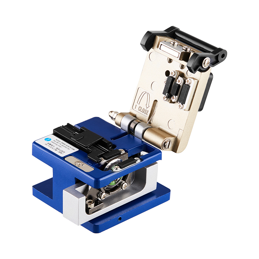Cold Connection Blade Fiber Cleaver Equipment Optic Lightweight High  Tool Coating Professional Cable Cutting AluminumCold Connection Blade Fiber Cleaver Equipment Optic Lightweight High  Tool Coating Professional Cable Cutting Aluminum