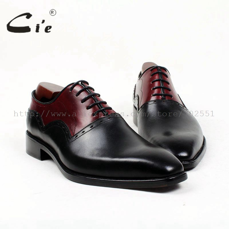 cie square plain toe black wine handmade pure genuine calf leather outsole breathable men's dress oxford bespoke men shoe OX407 cie square plain toe black wine handmade pure genuine calf leather outsole breathable men s dress oxford bespoke men shoe ox407