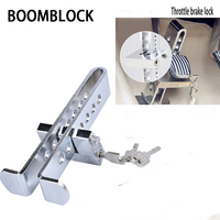 BOOMBLOCK 1set Car Anti Theft Lock Brake Steel For Inifiniti Kia Rio 3 K2 Sportage Ceed Ford Fiesta Mondeo Suzuki Swift