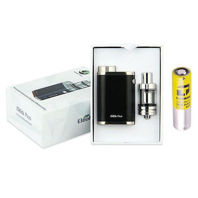 Pico eleaf istick 75 w kit de cigarrillo electrónico vapor mod box con 3000 mah 18650 batería Melo 3 Mini Atomizador vs Evic VTC mini