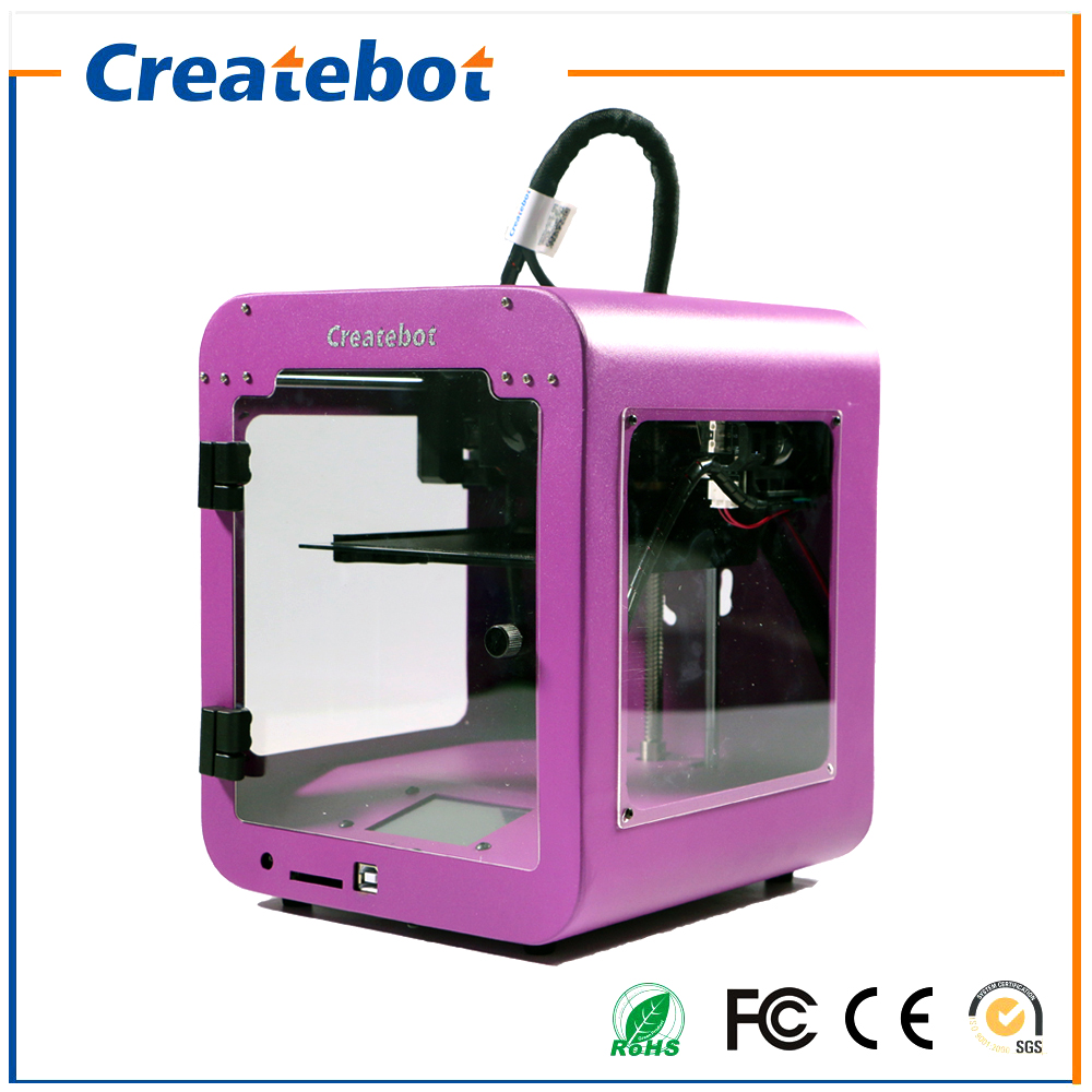 Special Price Createbot Super Mini 3D Printer Sexy Purple Designed for Kids and Children English Touchscreen Sales Promotion special price createbot super mini 3d printer sexy purple designed for kids and children english touchscreen sales promotion