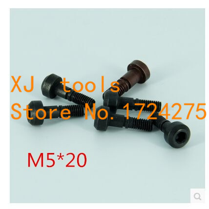 10pcs M5*20mm CNC Turning Tools Spare Screws Torx Screw for Replaces Carbide Inserts CNC Lathe Tool