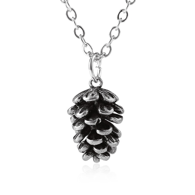 Pine Pendant Necklace