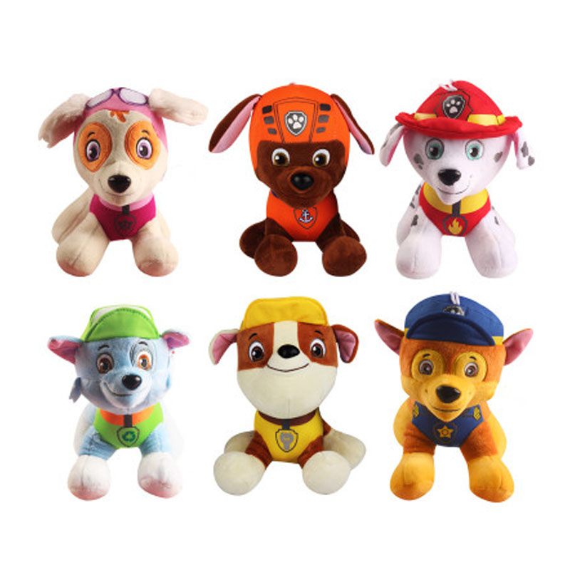 20cm Puppy Dogs Plush Animal Action Figures Dolls Cartoon Little Puppy Dogs Stuffed Plush Animals Dolls