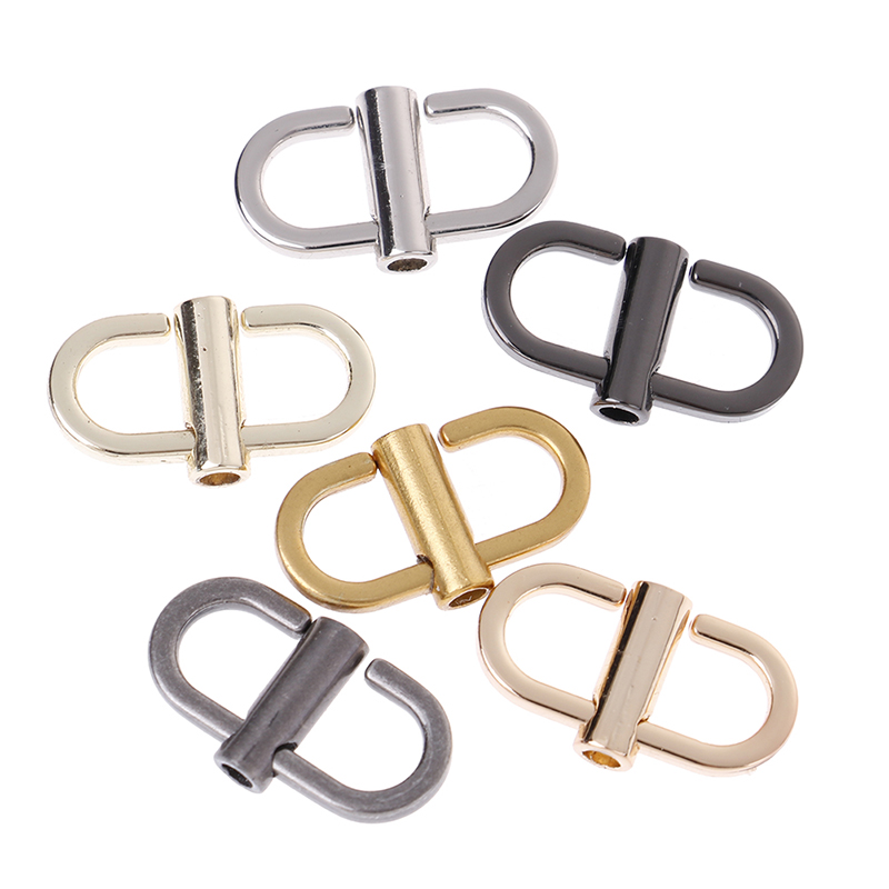 2Pcs/lot Metal Handbags Shoulder Chain Adjust Shortening Buckle Bag Hook Hardware Accessories Wholesale