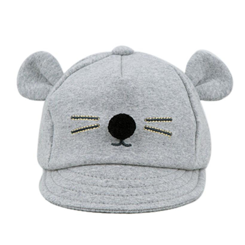 Costumes & Accessories Hot Baby Boys Winter Cap Dot Bear Cotton Blended Hat yellow Boys Costume Accessories