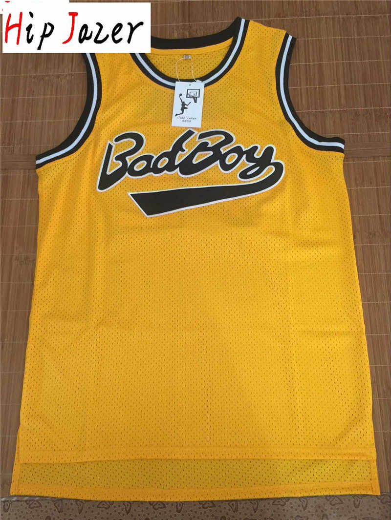 movie Basketball Jersey Men's street dancing hiphop  Jerseys   Smalls #72 Bad Boy Shirt  BIG Stitched Sport Jersey
