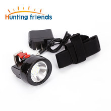 50pcs/lot Hunting Friends Mining Headlamp KL2.8LM Rechargeable Flashlight Cap Light Waterproof Hard hat Lamp