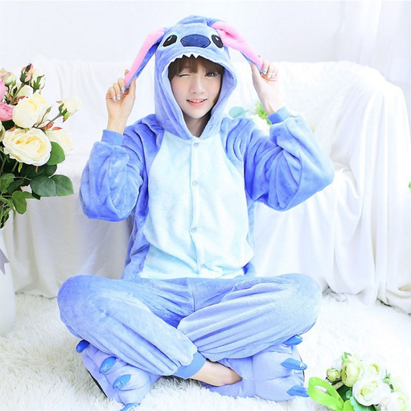 Dropshipping Adults Pajamas  Animal Suit Cosplay Women Winter Garment Cute Cartoon Animal Horse Pajama Pikachu Sets