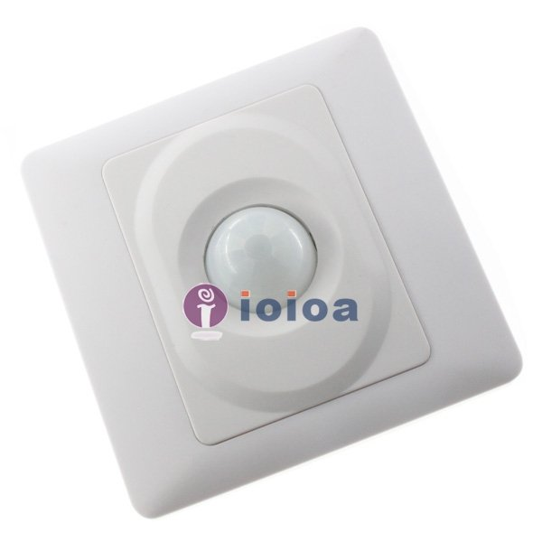 10pcs/Lot Wall Mount Unipolar IR Motion Sensor Switch Infrared Switch 800W 220V 10pcs lot ds2406p ds2406 dual addressable switch plus 1kb memory