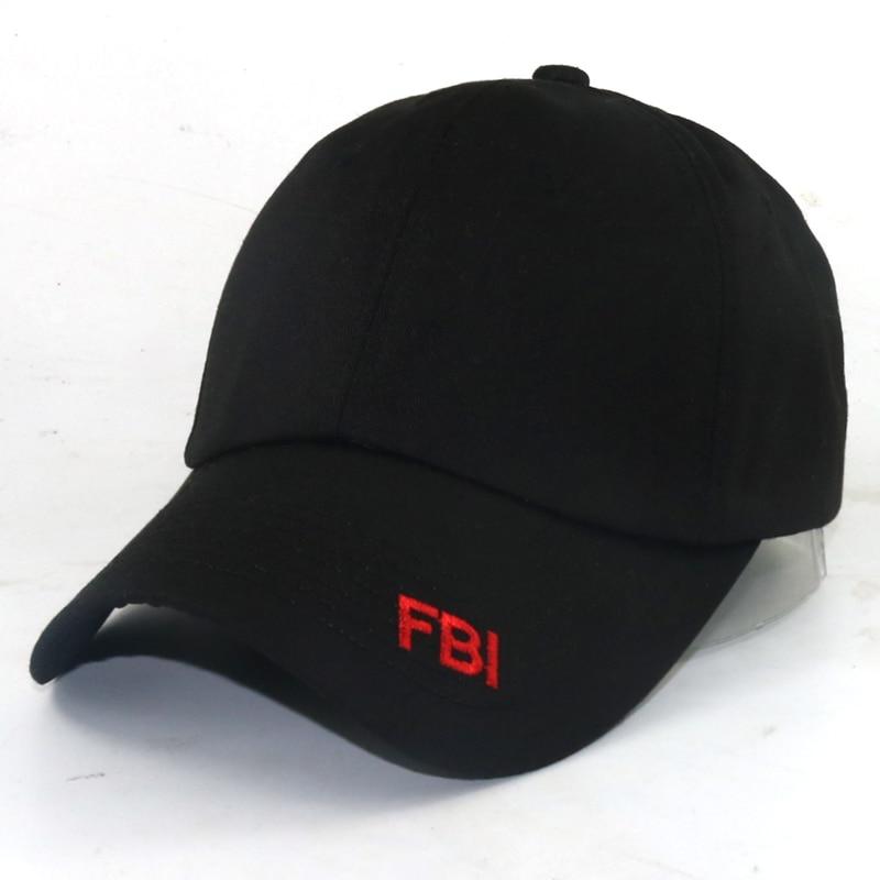 US FBI baseball cap women men cotton adjustable casual caps outdoor  snapback hats sports cap Fashion caps Cheapu Panama cdce9385b17