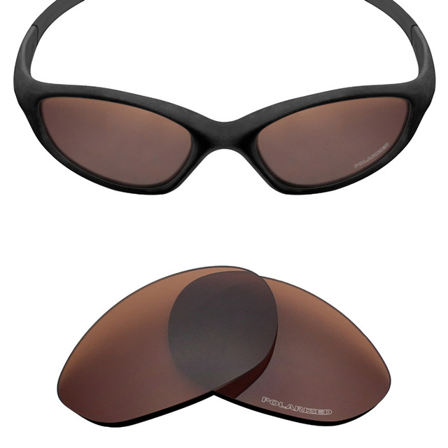 7554468872 Mryok+ POLARIZED Resist SeaWater Replacement Lenses for Oakley Minute 2.0 Sunglasses  Bronze Brown