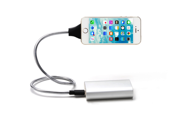 Phone Charger Dock Flexible Stand up Cable