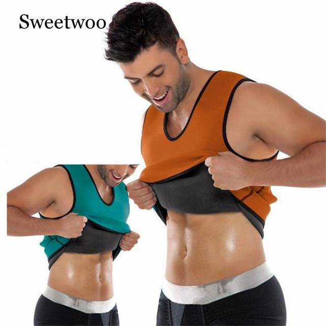 Slimming Belt Belly Men Sport Fitness Vest Abdomen Fat Burning Shaperwear Waist Sweat Corset Weight Dropshipping Waist Trainer 2