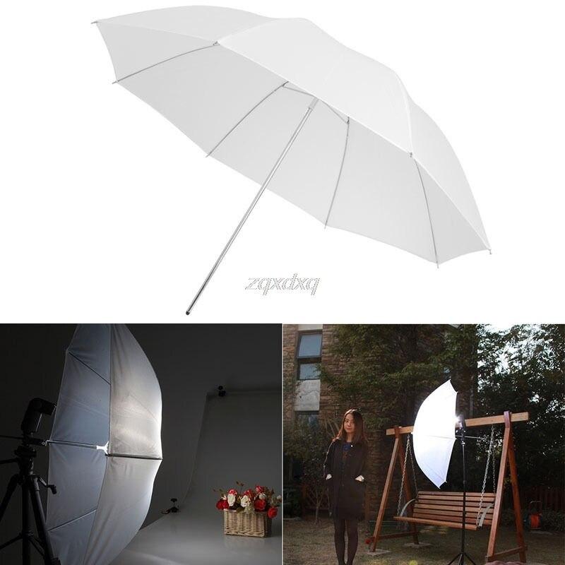 "33"" Studio Photo Standard Flash Diffuser Translucent Soft Light White Umbrella Whosale&Dropship"