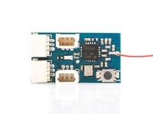 Mini RX 1.1g Receiver For FS FlySky 8CH AFHDA or 6CH Hubsan MCU+RFIC+ ANT Mini-Frsky