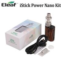 Original Eleaf iStick Power Nano Kit 40W iStick Power Nano Battery Mod 2ml MELO 3 Nano Tank with EC head evaporator E cig kit
