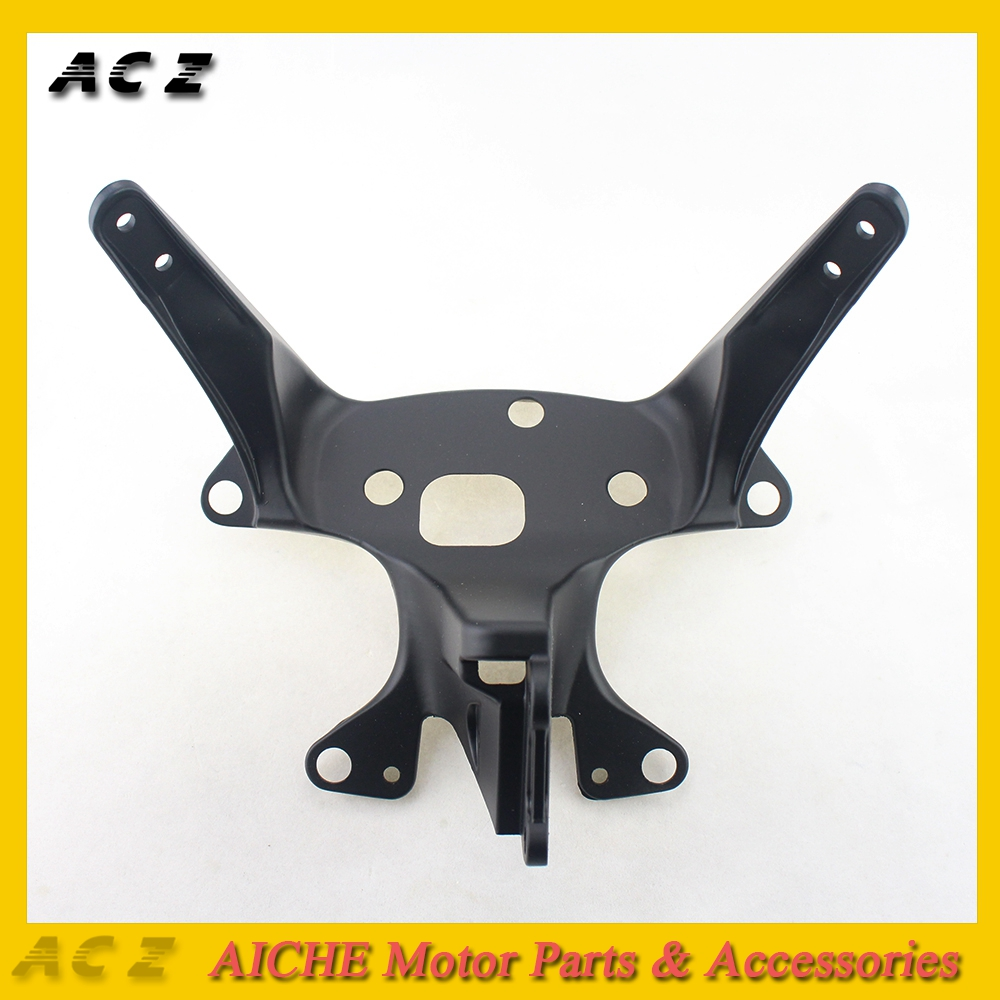 ACZ Motorcycle Front Upper Fairing Stay Holder Headlight Bracket Aluminum Cowling Bracket For YAMAHA YZF-R6  YZF R6 1999-2002