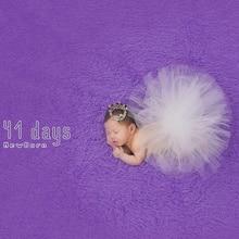 Фотография QYFLYXUE-2017 Newborn Photography Props Infant Costume Outfit Princess Baby Tutu Skirt Headband Baby Photography Prop