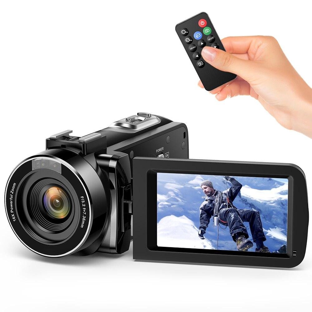 Andoer Digital Video Camcorder Camera FHD 1080P Portable Infrared Night Vision 3 0 Rotating LCD Screen