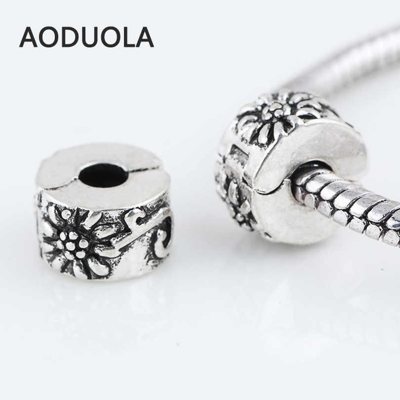 DIY Fashion European Snow White Charm Spacer Beads Fit Necklace Bracelet DIY !!