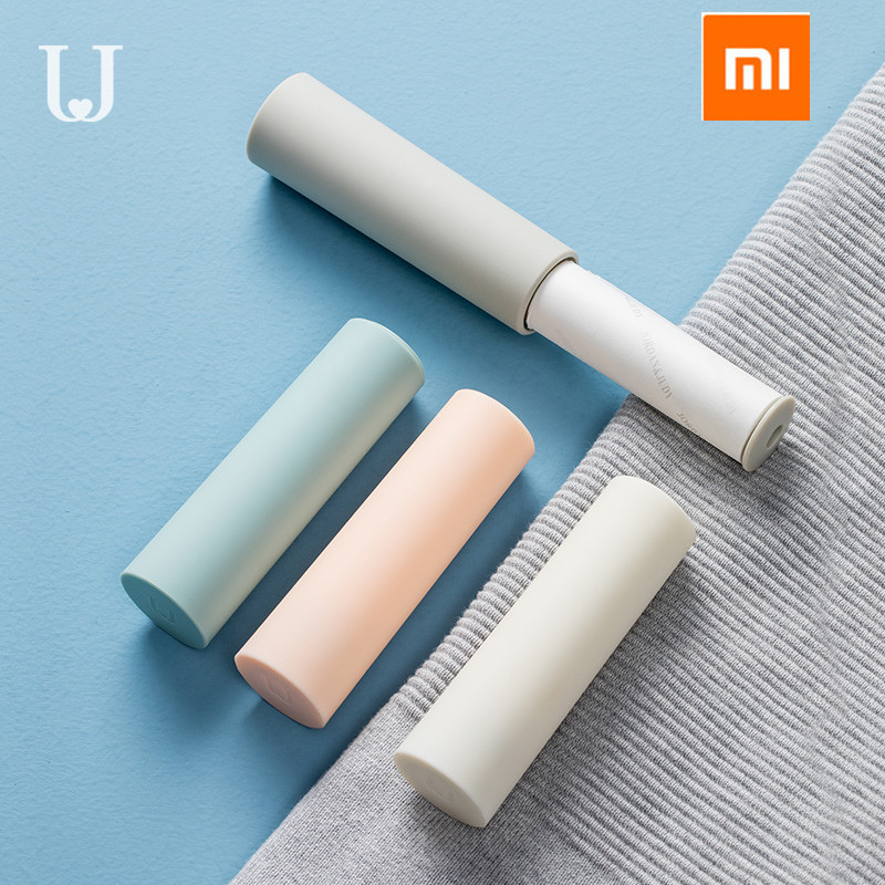 Original XIAOMI Mijia Jordan & Judy Portable Clothing Hair Sticker Roller Brush Cleaning Sweater Sticky Hair Remover Brush
