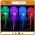 2.5m dia inflatable attraction light balloons / colorful light balloon for advertising