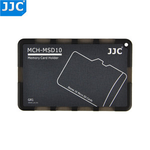 Image 3 - JJC SD/Micro SD/TF Memory Card Holders Handle Storage Box Case for Canon Nikon Sony Olympus Pentax Panasonic Fujifilm