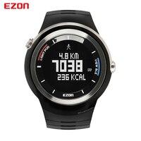 Ezon s2a01 шагомер smart bluetooth Для мужчин Спорт Часы Водонепроницаемый Калорий Цифровые Часы Бег наручные часы Montre Homme