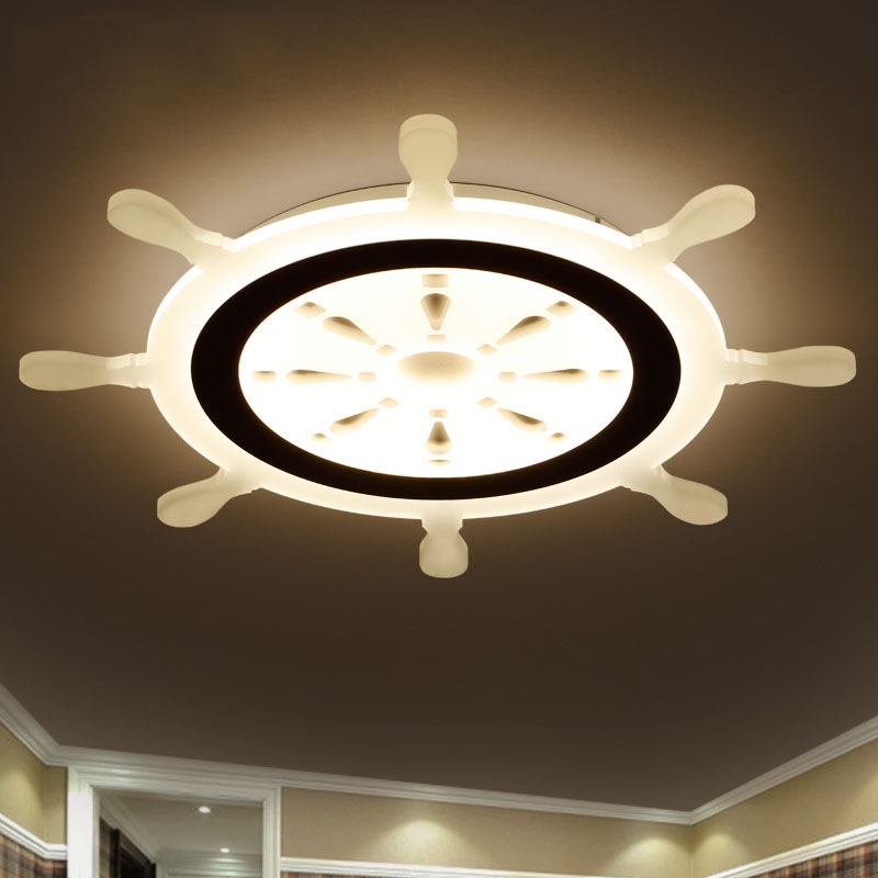 LICAN Children Pirate Dreaming Modern Led Ceiling Lights For Children Room AC85-265V Room Deco Ceiling Lamp iluminacion Fixtures bmbe табурет pirate