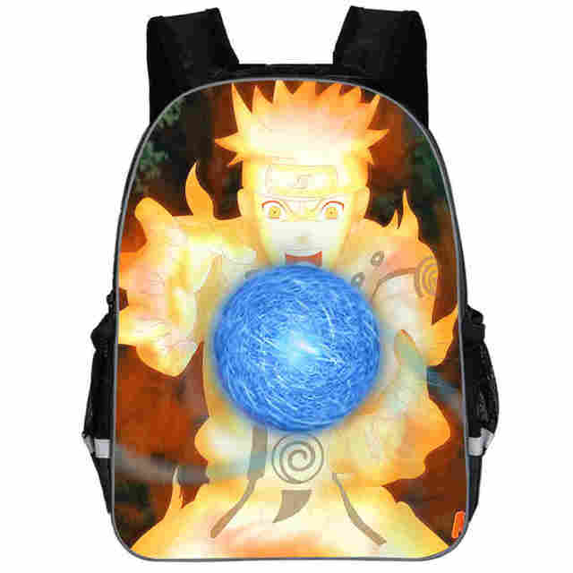 Naruto Backpack Uchiha Sasuke Uzumaki For Teenagers Boys Girls Toddler Animal Kid School Book Bags Men Women Rock Mochila Bolsa
