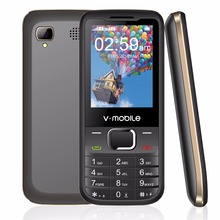 "Get more info on the 2G GSM 2.4"" Dual Sim MP3/MP4 Player Video GPRS Bluetooth 1200mAh Keyboard button Unlocked Mobile Phone Cheap GSM Cell Phone"