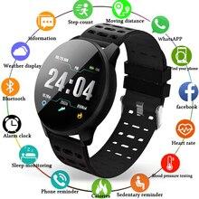 LIGE 2019 New Smart health watch Blood Pressure Heart Rate Sport Mode waterproof Bracelet Men Women fitness tracker band