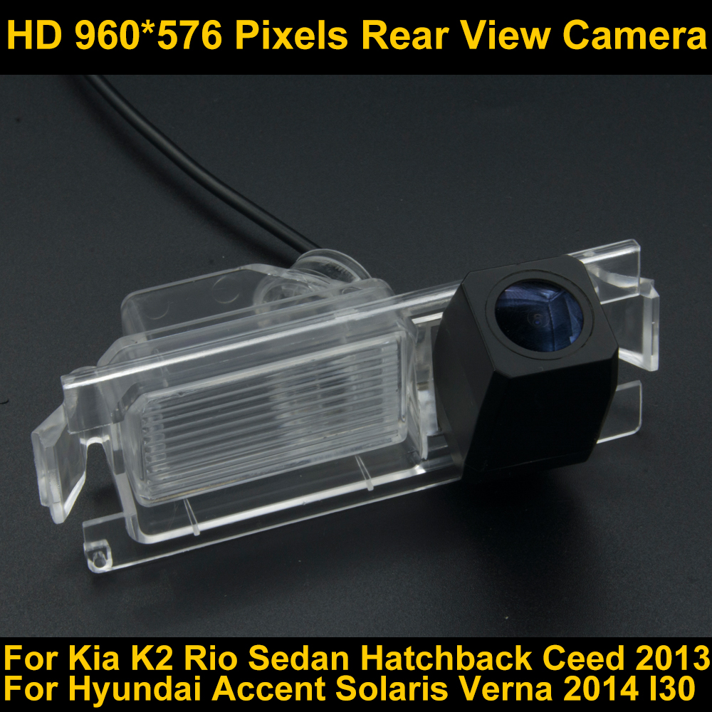 PAL HD 960 576 Pixels Parking Rear view font b Camera b font for Kia K2