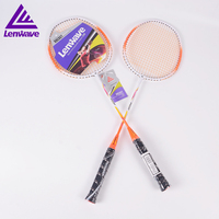 Lenwave 1 Pair 2 Available Colors Badminton Rackets For Men Women Free Shipping Amateur Entertainment Badminton