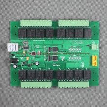 Network relay 16 Road 10A WEB UDP computer control switch Weak engineering centralized control