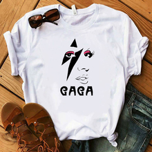 Vogue Awesome Lady Gaga Fan Tshirt A Star is Born Design T shirt Fashionable Trendy women top trending  Oscar 2019 clothes