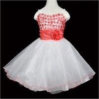 Vestidinhos meninas brancas 2016 verão Lantejoulas Suspensórios meninas vestido moda vestido de noite para as meninas roupa dos miúdos